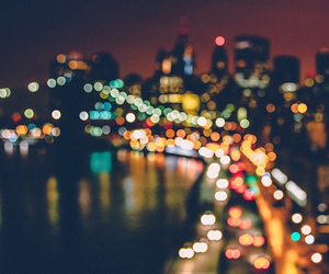 blur, bokeh, and city image
