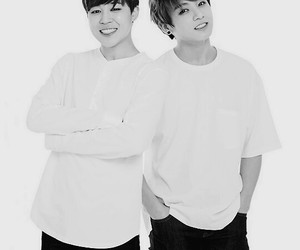 bts, jimin, and jungkook image
