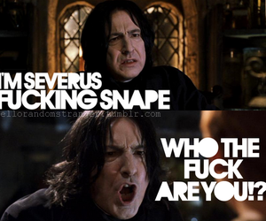 harry potter, severus snape, and Katie Fitch image