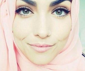 eyes, girls, and muslim image