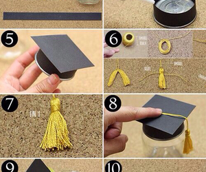 diy, graduation, and ideas image