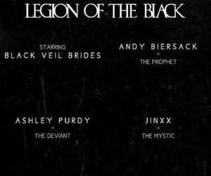 black veil brides and legion of the black image