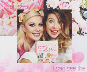 pink, zoella, and foster the people image