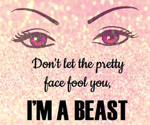 beast, fight, and quote image