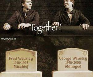 harry potter, forever, and weasley image