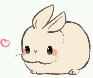 kawaii, bunny, and rabbit image