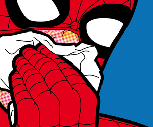 desenho, homem aranha, and spider man image