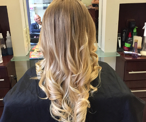 blonde, color, and cool image