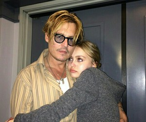 johnny depp, family, and dad image