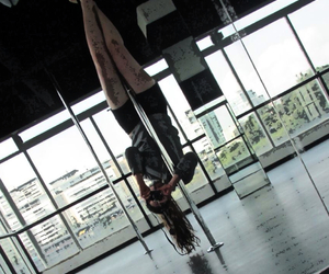 dance, pole dance, and tube image