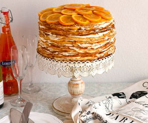 cake, dessert, and orange image