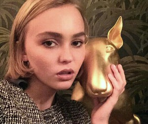 lily rose depp and beautiful image