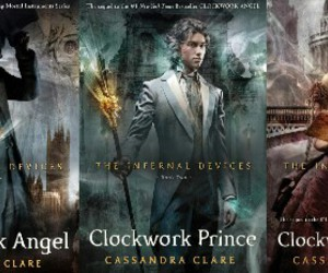book, the infernal devices, and clockwork angel image