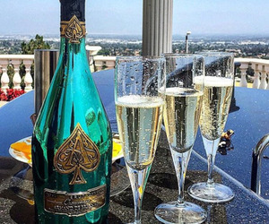drink, luxury, and champagne image