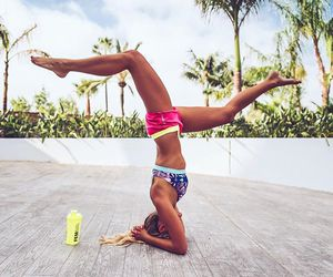 fitness, fit, and yoga image