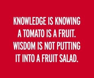 quote, knowledge, and text image