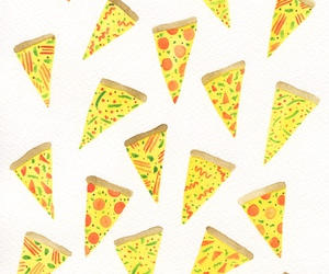 food, pizza, and background image