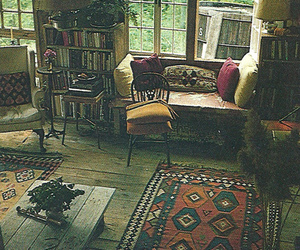 room, home, and vintage image