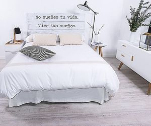 bedroom, home, and love image