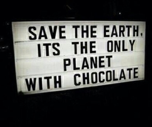 chocolate, earth, and planet image