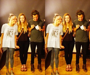 Harry Styles, gemma styles, and lou teasdale image