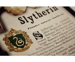 hogwarts, slytherin, and harry potter image