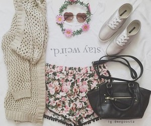 fashion, flower, and style image