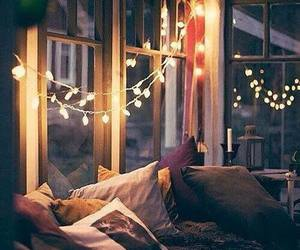 cozy, lights, and room image