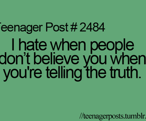 teenager post, truth, and people image