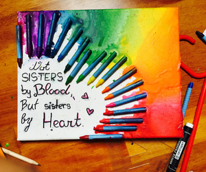 bff, diy, and heart image