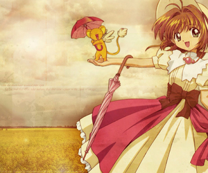 sakura, anime, and sakura card captor image