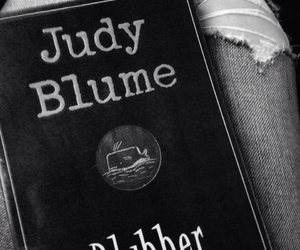 black, jeans, and judy blume image