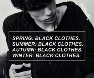 black, clothes, and grunge image