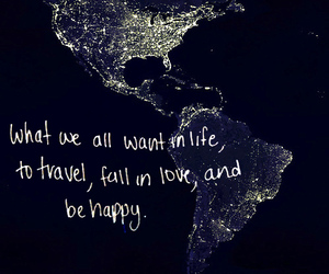 travel, love, and quotes image