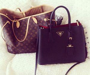 Louis Vuitton and Prada image