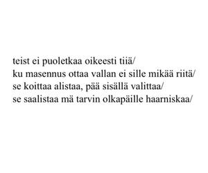 finnish, Lyrics, and rap image