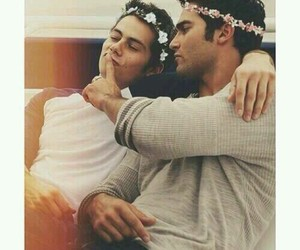 awww, couple, and teen wolf image