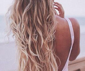 hair, long hair, and beautiful image