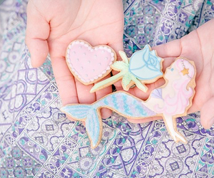 cookie, heart, and icing image