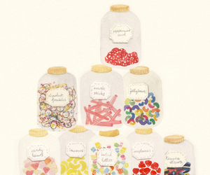 candy, illustration, and sweet image
