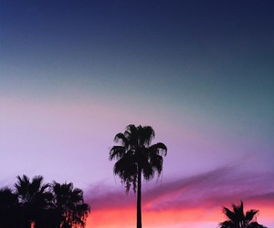 sunset, colors, and hipster image