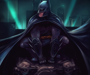 batman, draw, and justice league image