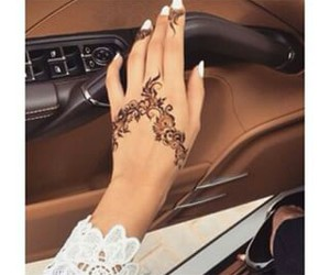 henna, tattoo, and car image