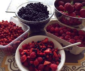 blueberries, breakfast, and fresh image