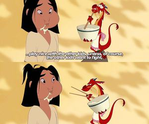 disney and mushu image