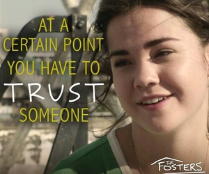 the fosters, trust, and callie image