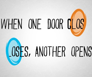 portal, quote, and life image