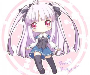 anime, julie sigtuna, and chibi image