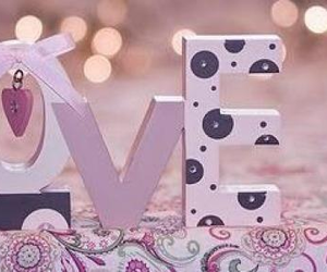 bow, cute, and love image