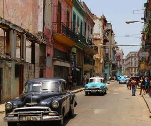 cars, cuba, and vintage image